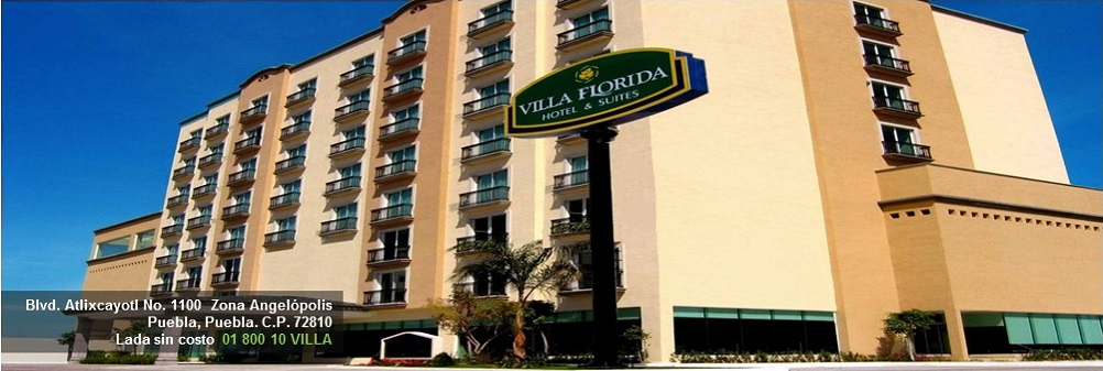 Villa florida hotel suites hoteles puebla for Hoteles por reforma 222